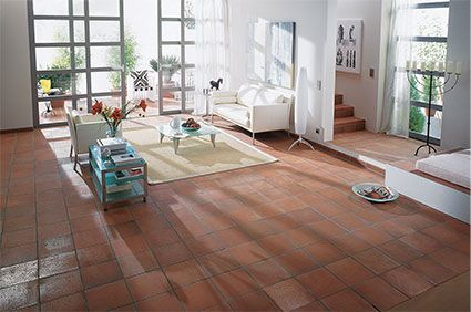 Aragon Terracotta Red Quarry Tiles