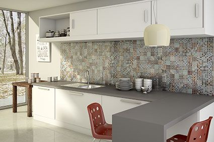 Patterned Glass Tiles