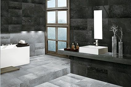 Silver and Metallic Border Tiles