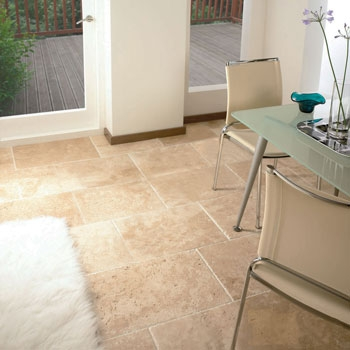 Tumbled Unfilled Travertine Tiles Tiles