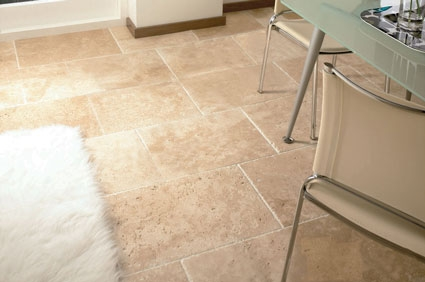 Tumbled Unfilled Travertine Tiles